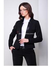 Короткий черный женский пиджак Rendy