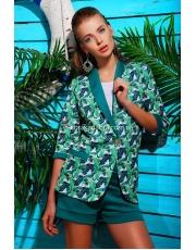 Летний женский пиджак без подкладки Fora