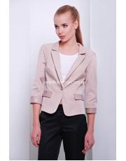"""Элегантный женский пиджак с укороченным рукавом """"Randevy"""""""