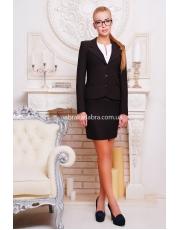 Однобортный женский классический пиджак Жани