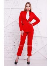 Однобортный женский пиджак Sintiya