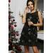 Вечернее платье А-силуэта Edina