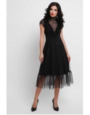 Нарядное платье в сетку Ermina