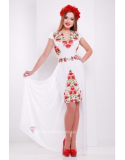 Платье со съемной юбкой Redless