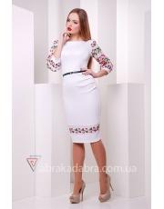 Платье футляр с рукавами Wandy