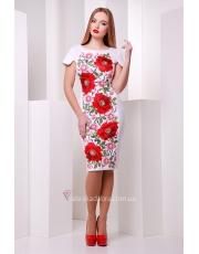 Платье в цветочный принт Print