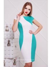 Платье со вставками Skalea