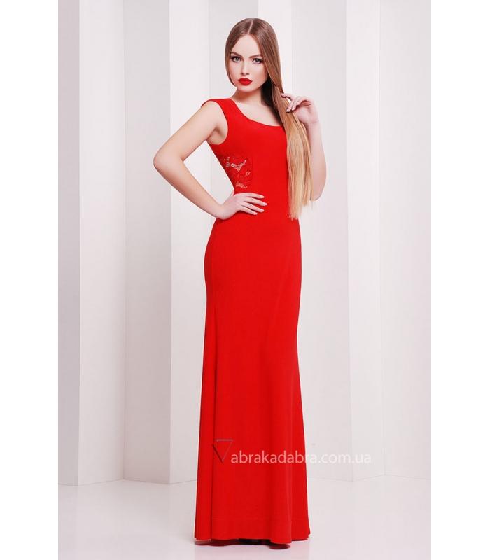 c49940c3baa Красное длинное платье Roberta