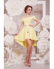 Платье с открытыми плечами Karina