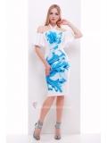 Платье с открытыми плечами Klarisa