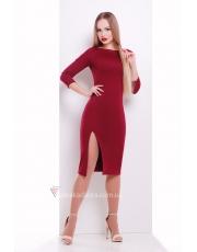 Платье с разрезом Luchera