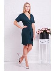 Трикотажное платье с запахом Avrora