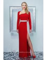 Платье в пол с разрезом Luchezara