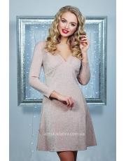 Блестящее платье А-силуэта Azorina