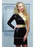 Асимметричное вечернее мини платье Zlata