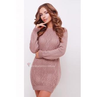 Вязаное платье туника Milli