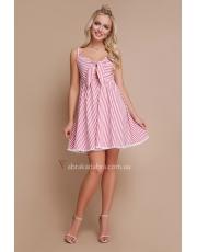 Платье с завязкой на груди Simona
