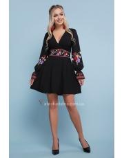 Расклешенное платье с цветами Ivanna