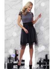 Вечернее платье с фатиновой юбкой Tiana