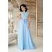 Выпускное платье в пол из гипюра Anisya