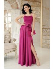Вечернее платье в пол с разрезом Eshli