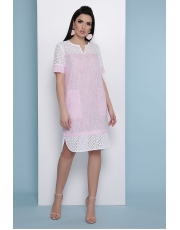 Льняное платье Sati