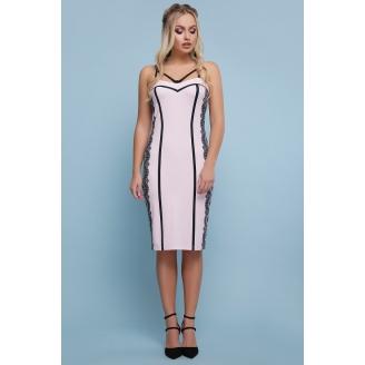Облегающее платье в бельевом стиле Afina