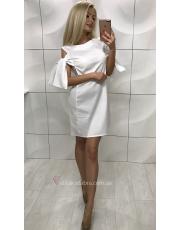 Платье с завязками на рукавах Anabel