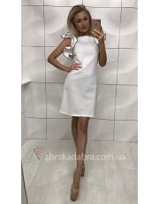 Платье с воланами на рукавах Buton