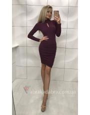 Платье в рубчик Morena