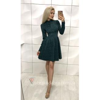 Жаккардовое платье Zhaki