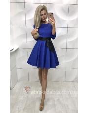 Жаккардовое платье солнце-клеш Zhorzhetta