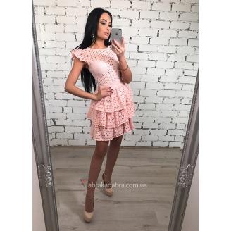 Платье с рюшами Riche