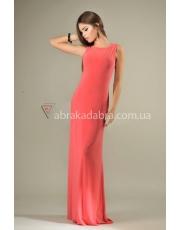 Длинное платье без рукавов с закрытой спиной Dina