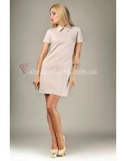 Трикотажное платье поло с воротником Polo