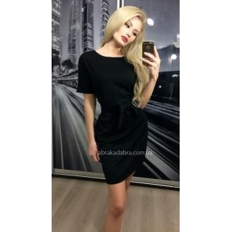 Платье футболка с поясом Zoiva