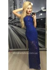 Кружевное вечернее платье макси Sofi