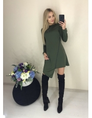Платье А-силуэта None