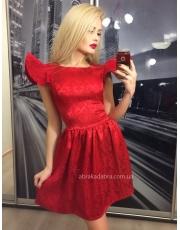 Расклешенное платье с крылышками Foli