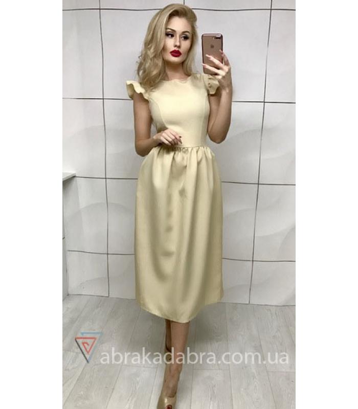 Платье с расклешенной юбкой купить