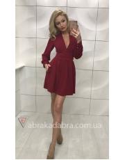 Платье с декольте Marsy