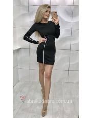 Облегающее платье мини с замками Monika