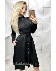 Платье-рубашка миди Teri