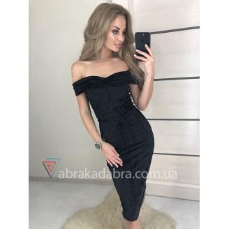 Бархатное вечернее платье Angi