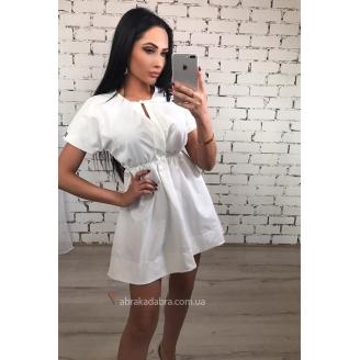 Коттоновое летнее платье Coton