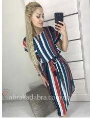 Платье рубашка в полоску Line