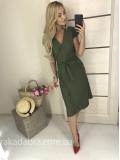 Платье на запах True