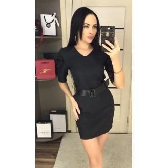 Платье с рукавами буфами Buf