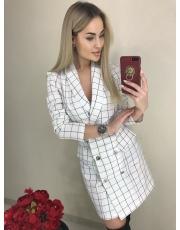 Женское платье пиджак White
