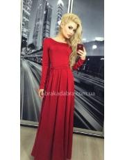 Вечернее длинное платье Ann